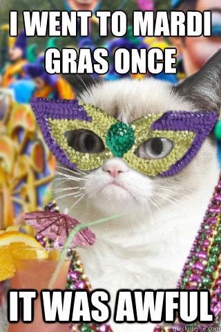 Image result for Mardi Gras meme