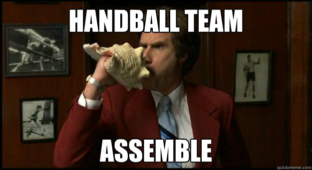 Image result for team handball meme