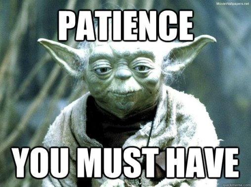 Image result for patience meme