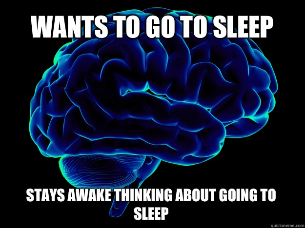 Image result for brain meme sleep