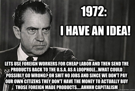 Image result for nixon meme
