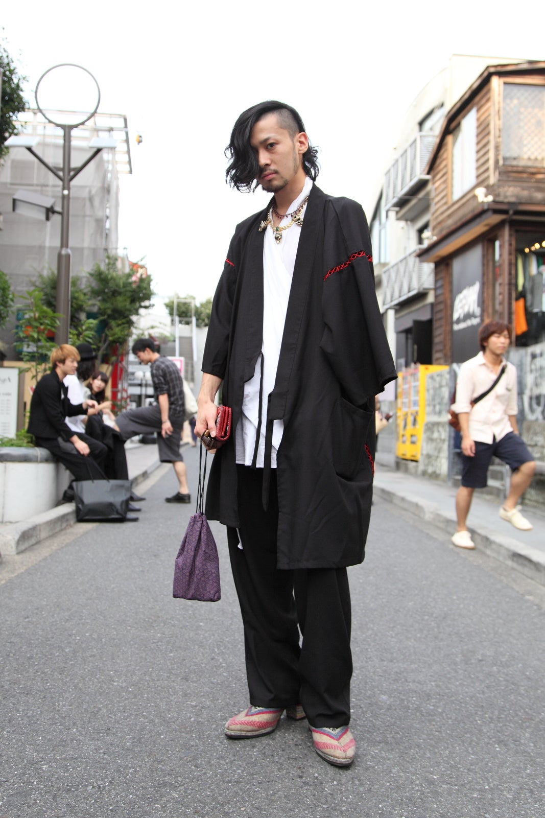Traditional Japanese Clothing   Tokyo Street Style