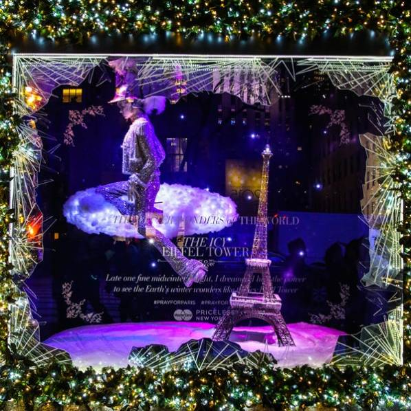 Refinery 29 christmas window display