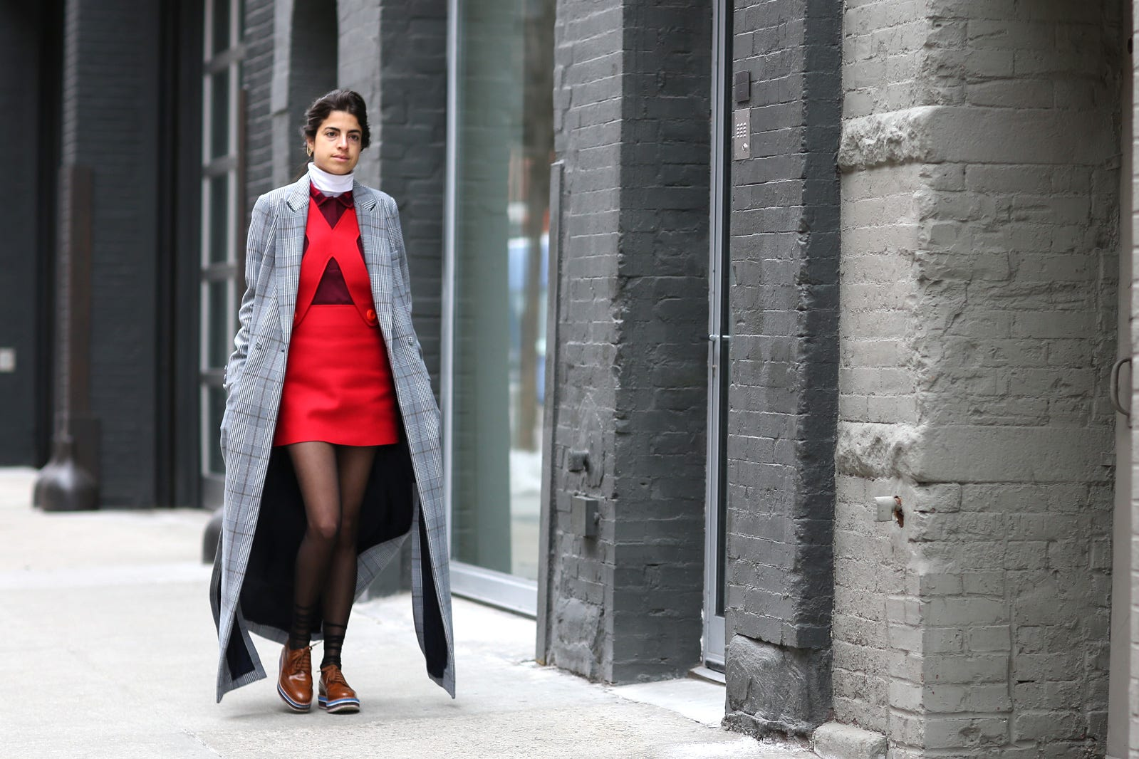 leandra medine long jacket