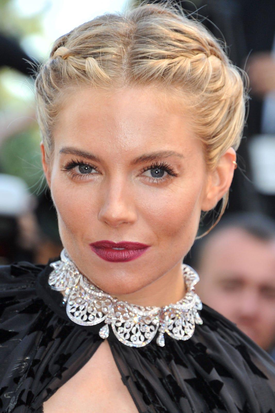 Best Celebrity Plaited Hairstyles December 2015