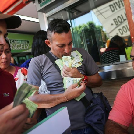 Venezuela's currency is now worth so little people are weighing it instead of counting it