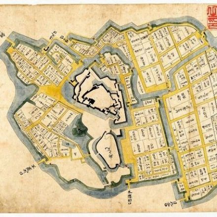 Found: A Crucial Map of Tokyo's Ancient Edo Castle, Which Was Ready for War