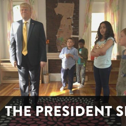 Donny Goes to School - The President Show