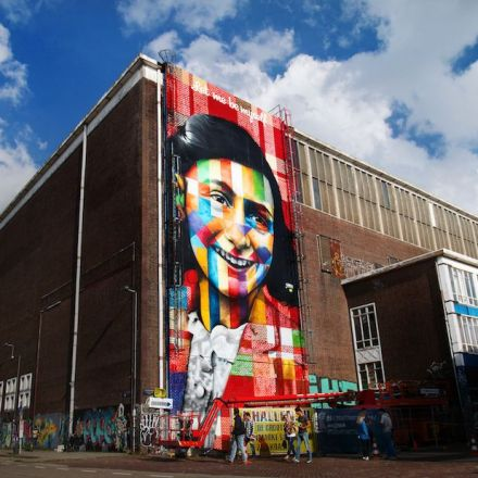 World's largest street art museum takes shape in Amsterdam.
