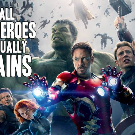 Why All Superheroes Are Actually Villains