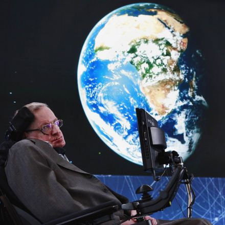 Stephen Hawking is being sent to space