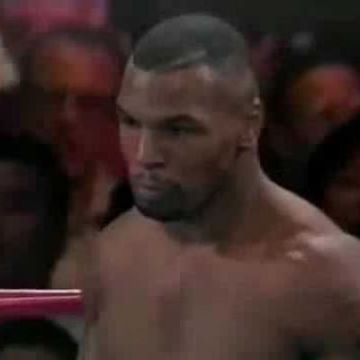Was a Time Traveler Watching Mike Tyson Fight