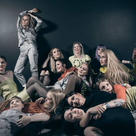 Iceland's female hip-hop collective is changing the game