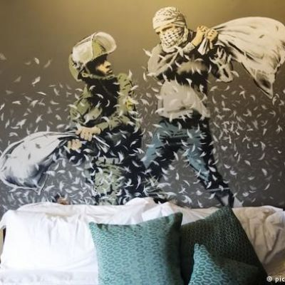 Banksy's hotel with 'the world's worst view' opens in Bethlehem