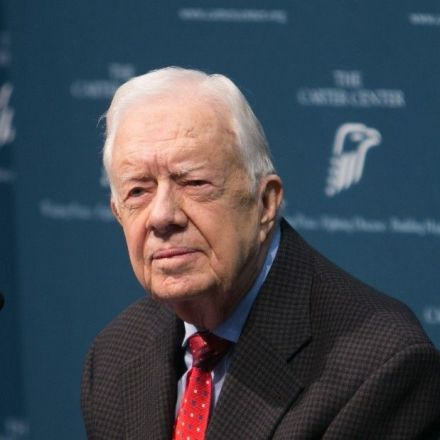 Jimmy Carter on Sanders: 'Can y'all see why I voted for him?'