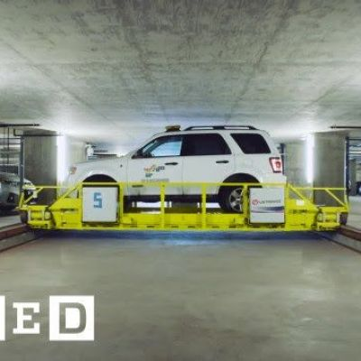 The Amazing Garage Where Robots Do the Parking