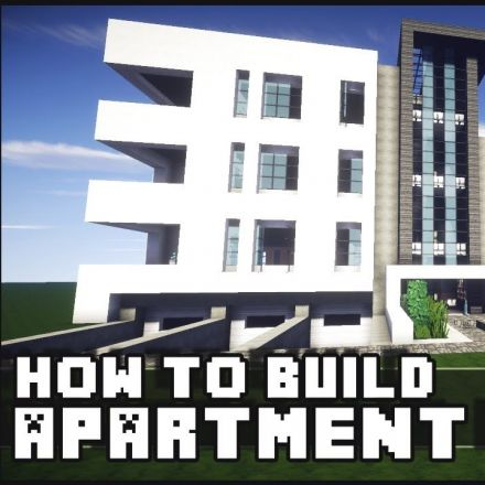 Minecraft - Building a Modern Apartment Building
