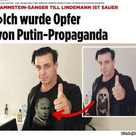 German Rock Star Says Targeted By 'Putin Propaganda,' But Was It Just Russian PR Stunt?