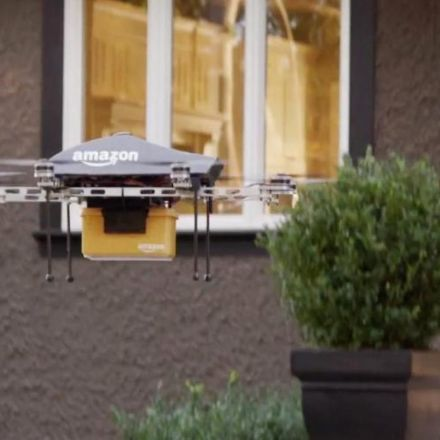 Amazon wins patent for a flying warehouse that will deploy drones to deliver parcels in minutes