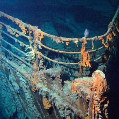 The wreck of the Titanic is being eaten and may soon vanish