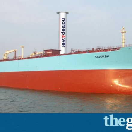 'Spinning sail' rebooted to cut fuel and make ocean tankers greener