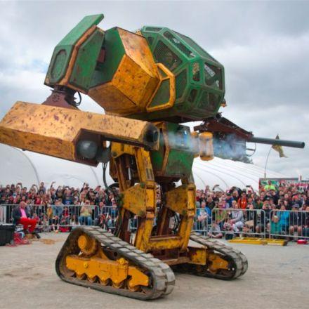 MegaBots raises $2.4 million to create league of human-piloted, giant fightingrobots