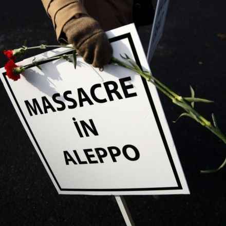 Everyone connected with the abomination in Aleppo will pay a heavy price