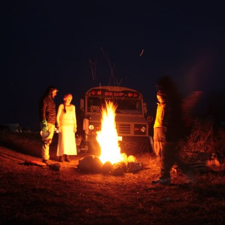 In photos: Standing Rock digs in