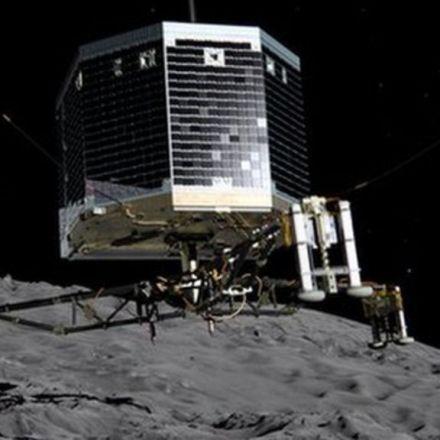 Ground control bids farewell to Philae comet lander