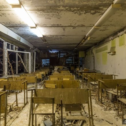31 Years Later, the Lights Come Back on in Chernobyl