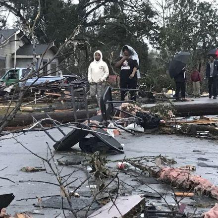 Tornado hits Hattiesburg; 4 dead