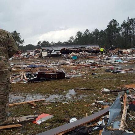 Deadly Storms Kill 16, Trigger Tornado Threat Across U.S. South