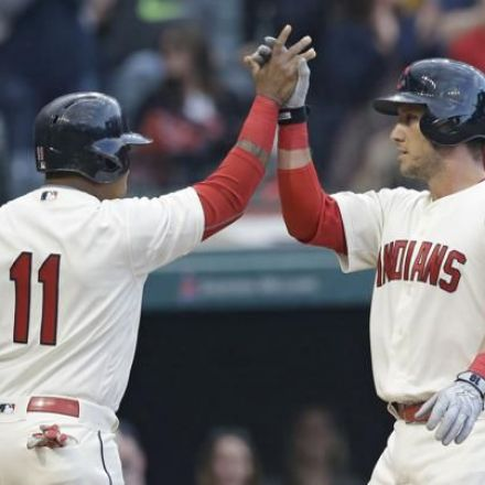 Byrd's 2-Run Double in 8th Lifts Cleveland