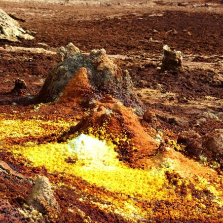 Earth Doesn't Get Weirder Than The Bubbling Springs Of Ethiopia