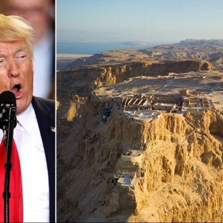 Why Trump won't be able to land helicopter on Masada