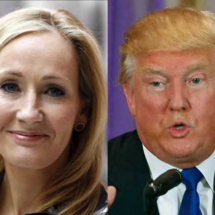 Harry Potter author JK Rowling defends Trump's right to be 'offensive', 'bigoted', even Voldemort