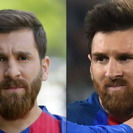 Lionel Messi lookalike, Reza Parastesh, causes panic in streets of Iran