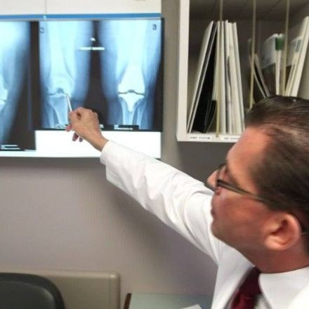 Surgeons use nose cells to repair knee joints