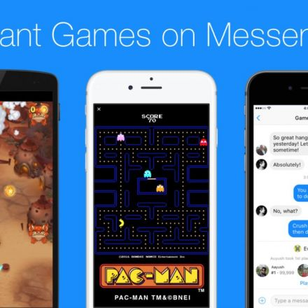 Facebook Messenger launches InstantGames