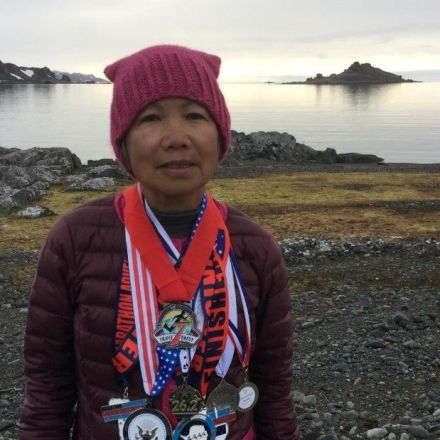 70-year-old runs 7 marathons in 7 days