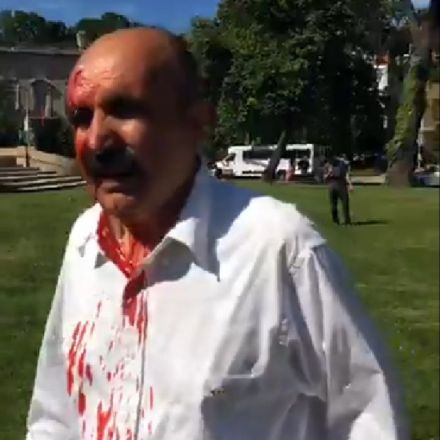 Erdogan's Bodyguards Beat Up Protesters In Washington, D.C.