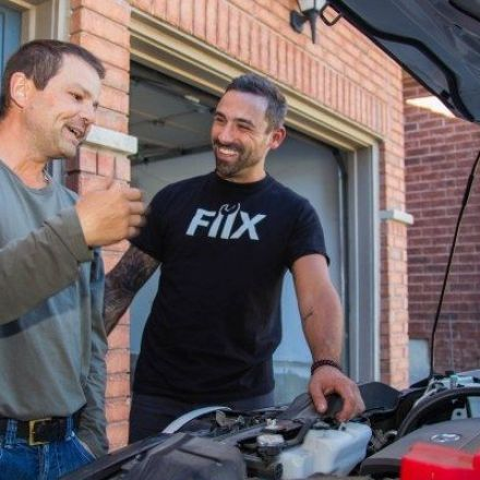Fiix will send a mechanic to your driveway to repair your car on demand
