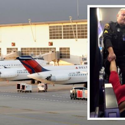 Woman Dragged Off Flight By Police For Blowing Through Gate Personnel To Board Early