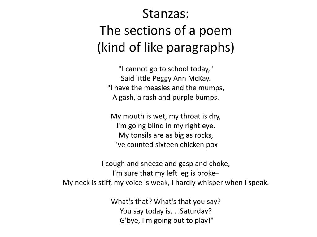 Sad Poems That Rhyme