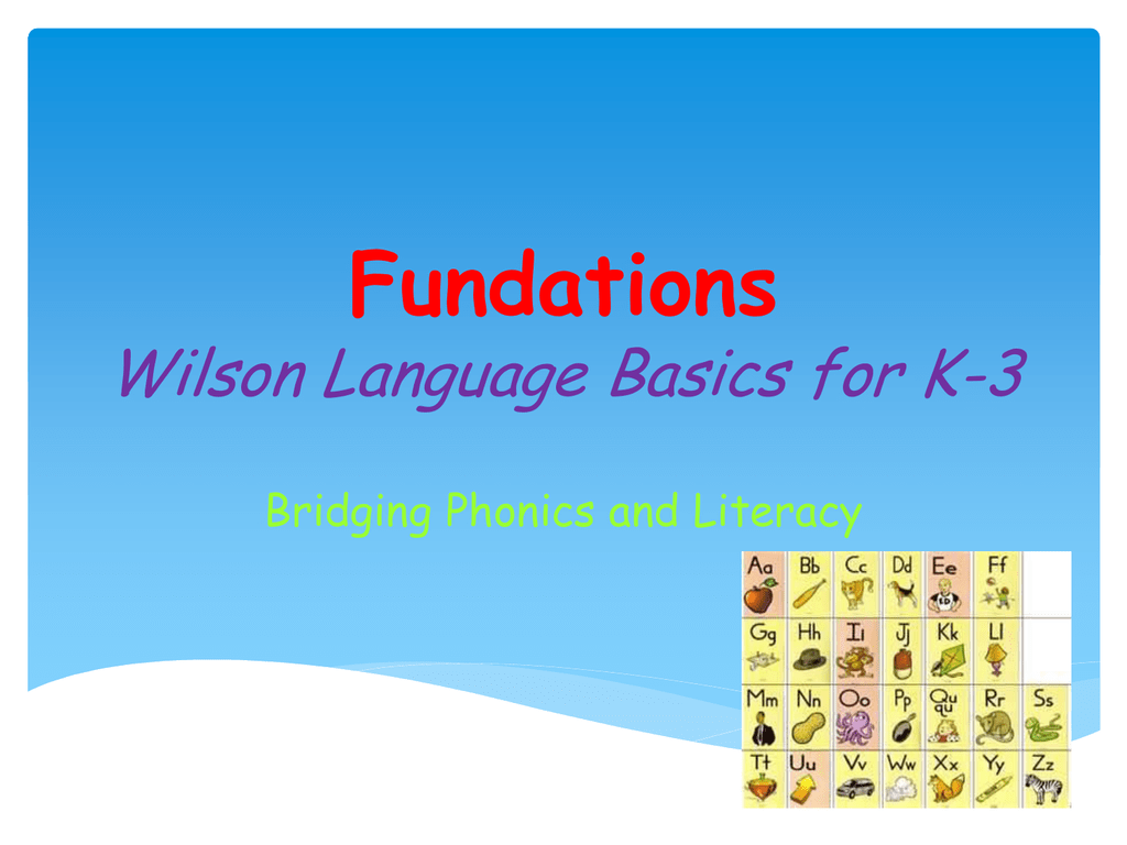 Fundations Power Point 4 11