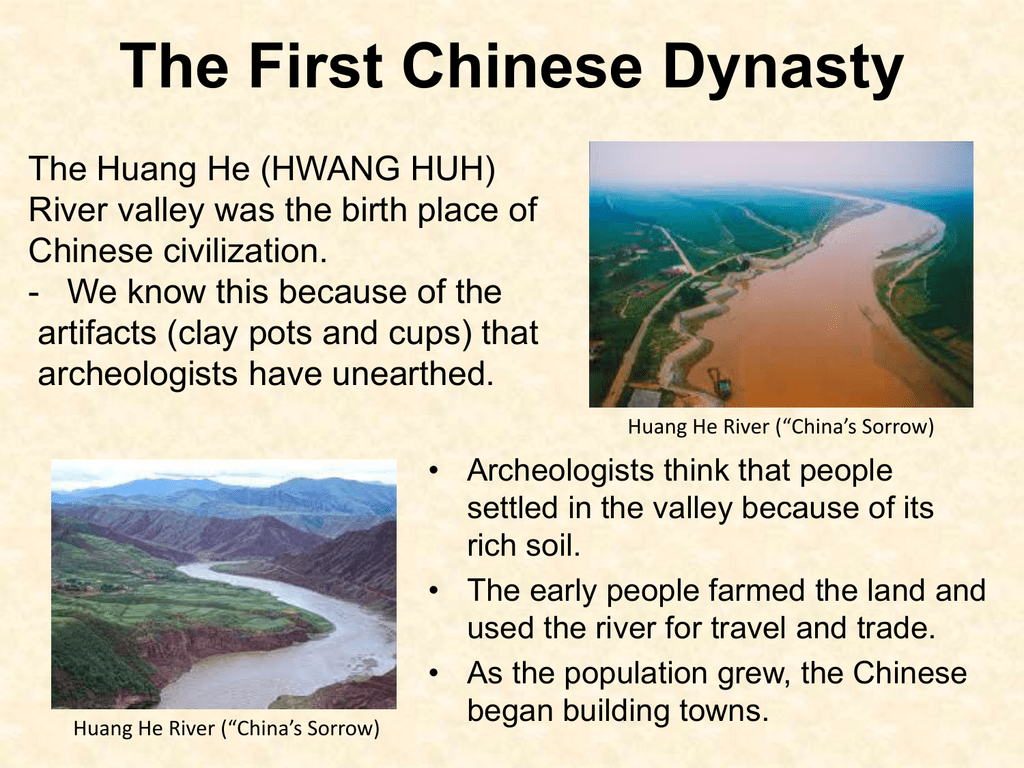Powerpoint On The Shang Dynasty