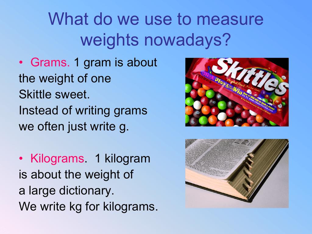 Walt Convert Grams To Kilograms And Choose Sensible Units For