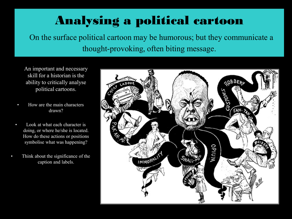 Ysing A Political Cartoon