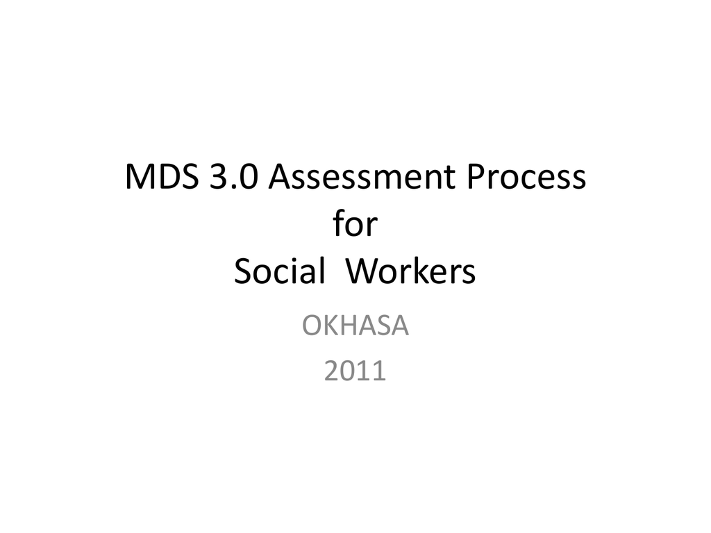 Mds 30 Data Collection Worksheet