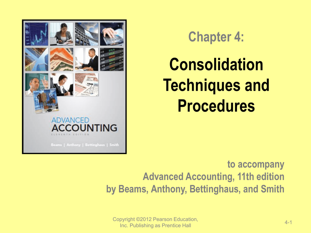 Chapter 4 Consolidation Techniques And Procedures